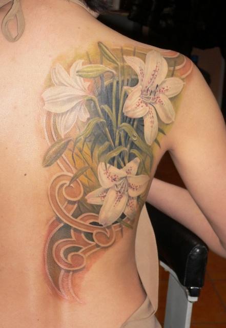 татуировка лилия (11)