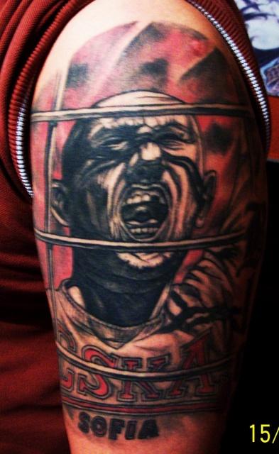 Спортивные татуировки фанатов (39)