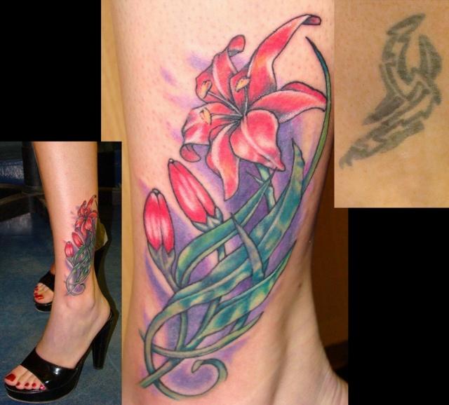 татуировка лилия (22)