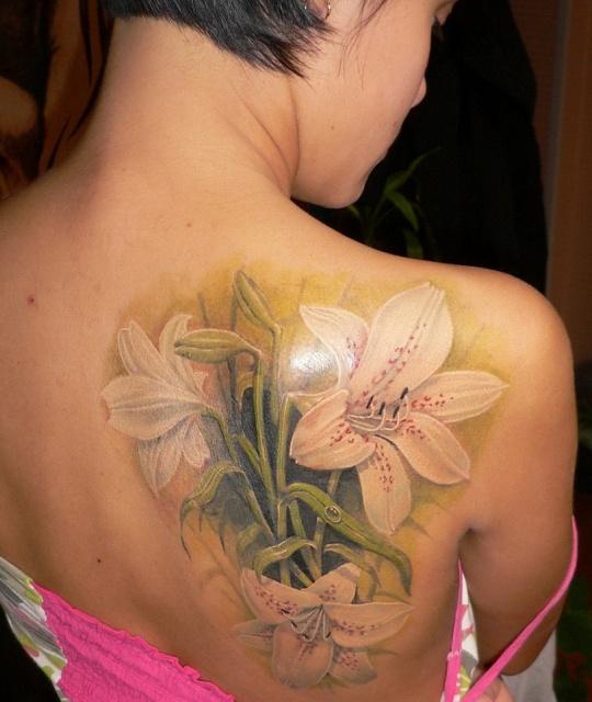 татуировка лилия (17)