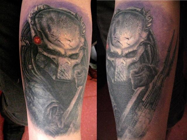 Татуировки Чужой и Хищник (1)