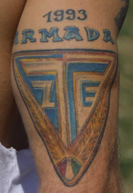 Спортивные татуировки фанатов (37)