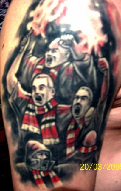 Спортивные татуировки фанатов (35)