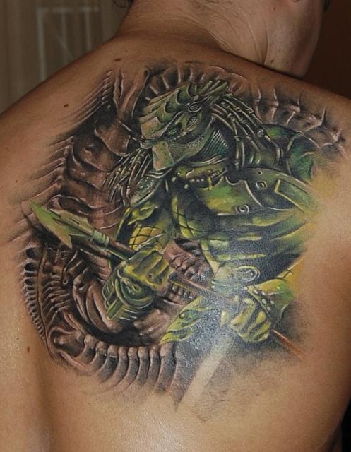 Татуировки Чужой и Хищник (4)