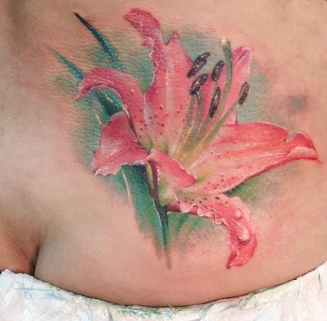 татуировка лилия (5)