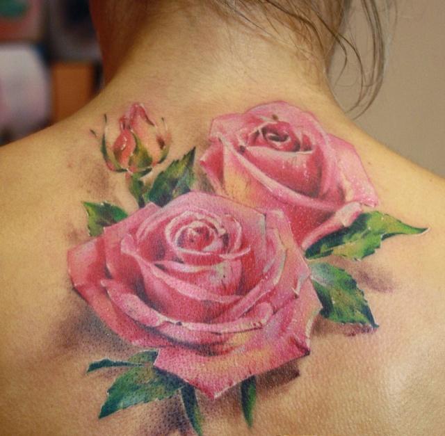 Татуировки и эскизы розы (3)