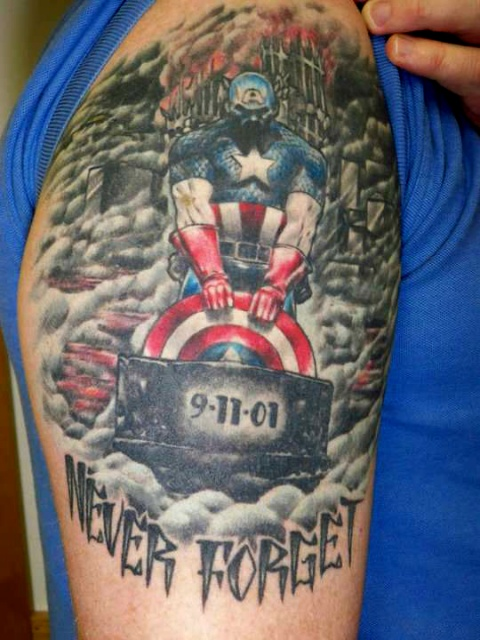 татуировки капитан америка (25)