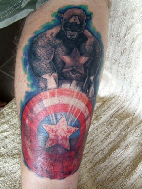 татуировки капитан америка (16)