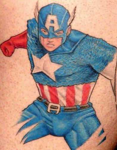 татуировки капитан америка (15)