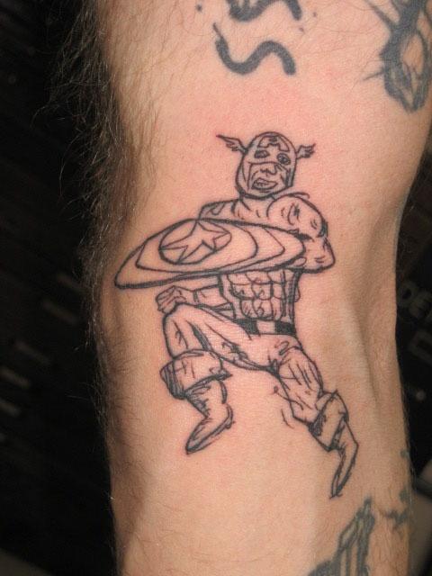 татуировки капитан америка (4)