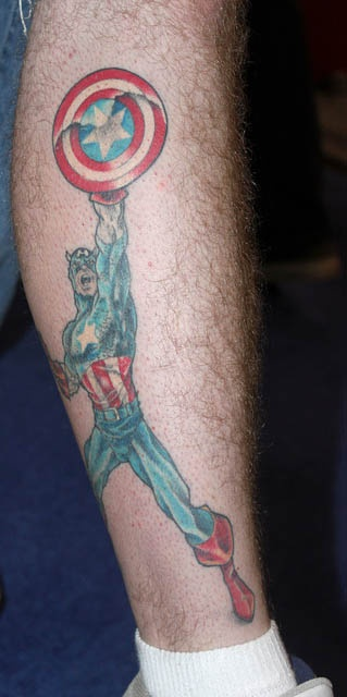 татуировки капитан америка (32)