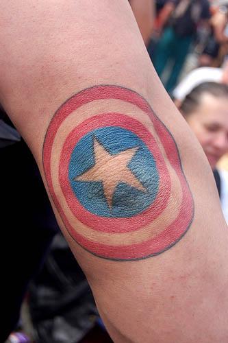 татуировки капитан америка (31)