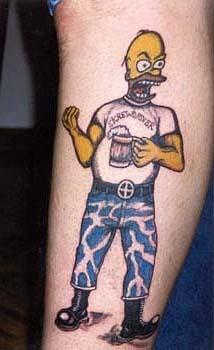 татуировки мультиков (24)