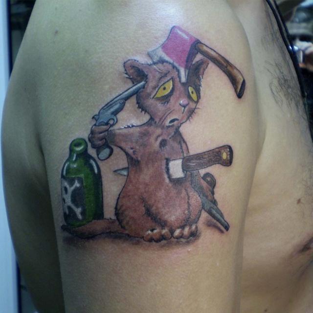 татуировки мультиков (4)