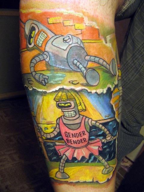 татуировки мультиков (3)