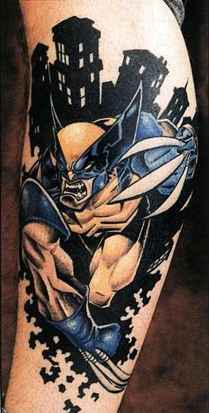 татуировки мультиков (22)