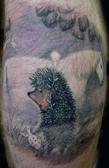 татуировки мультиков (18)