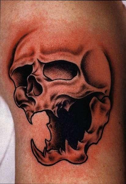 татуировки черепа (30)