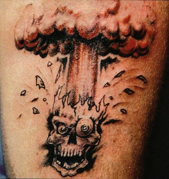 татуировки черепа (20)