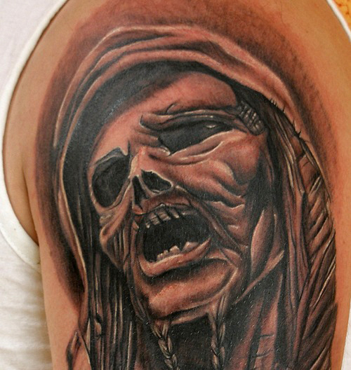 татуировки черепа (19)