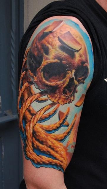 татуировки черепа (15)