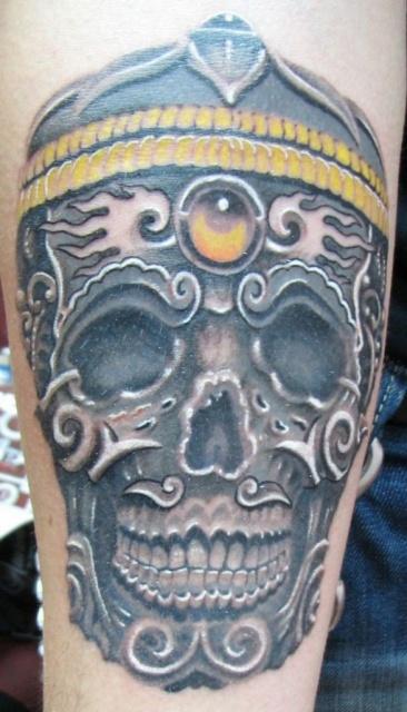 татуировки черепа (13)