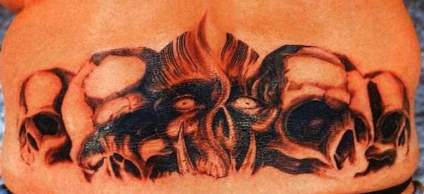 татуировки черепа (29)