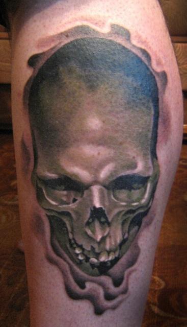 татуировки черепа (11)