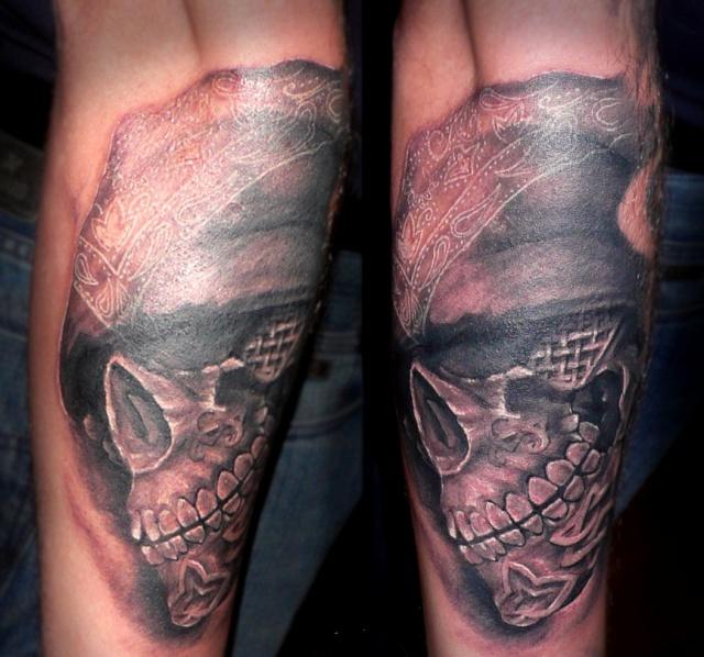 татуировки черепа (10)