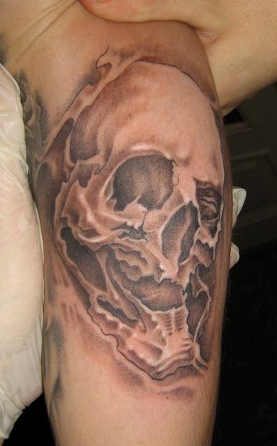 татуировки черепа (3)