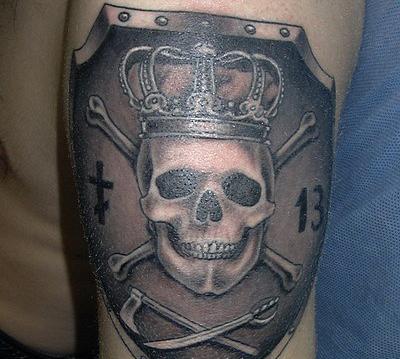 татуировки черепа (27)