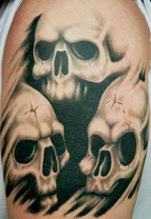 татуировки черепа (26)