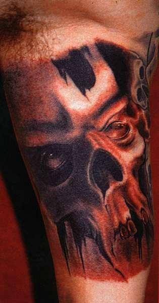 татуировки черепа (25)