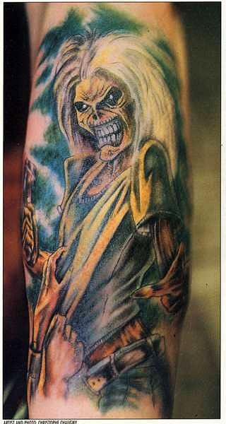 татуировки черепа (22)