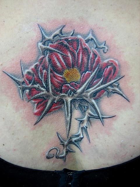 татуировки цветов (13)