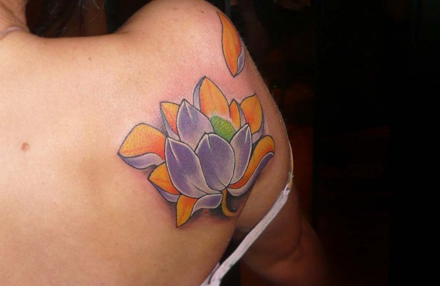 татуировки цветов (11)