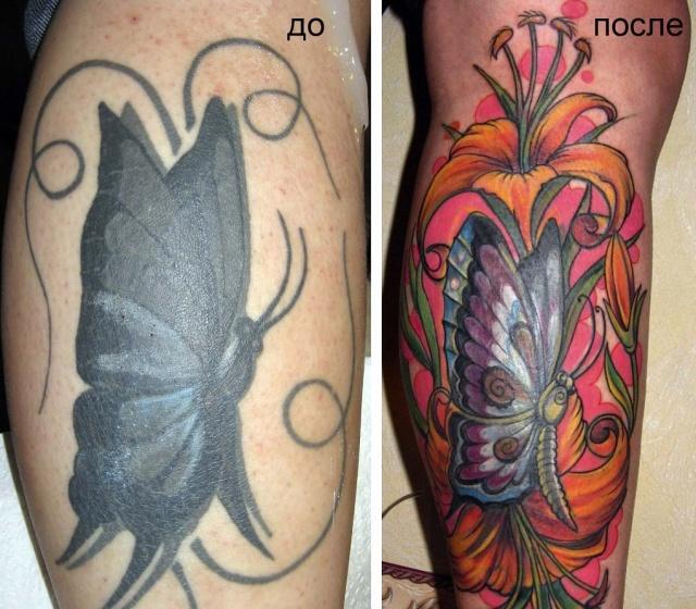 татуировки цветов (8)