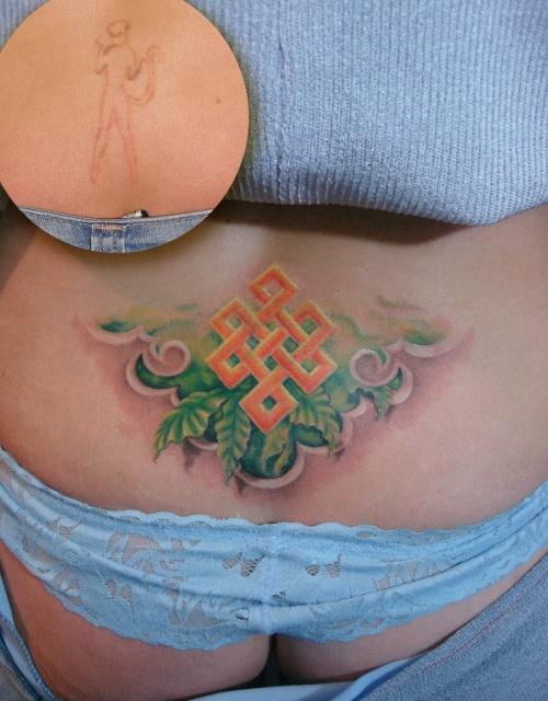 татуировки цветов (7)