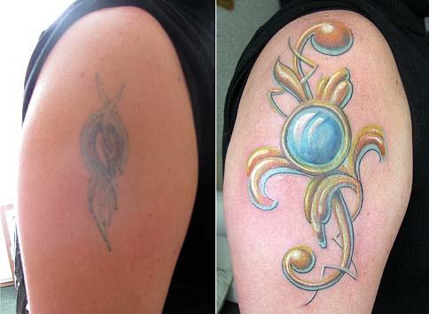 татуировки цветов (20)