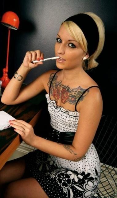 девушки в татуировках (21)