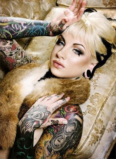 девушки в татуировках (28)