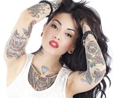 девушки в татуировках (27)