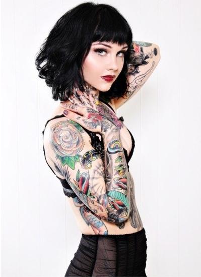 девушки в татуировках (26)