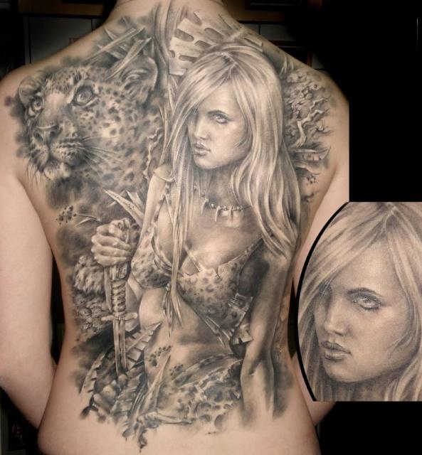 татуировки девушек на теле (26)