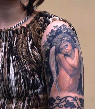 татуировки девушек на теле (35)