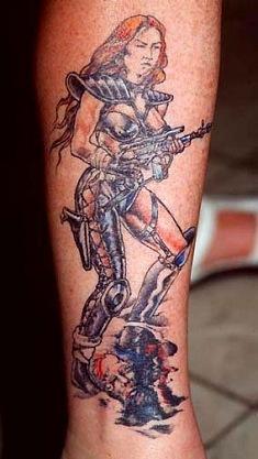 татуировки девушек на теле (17)