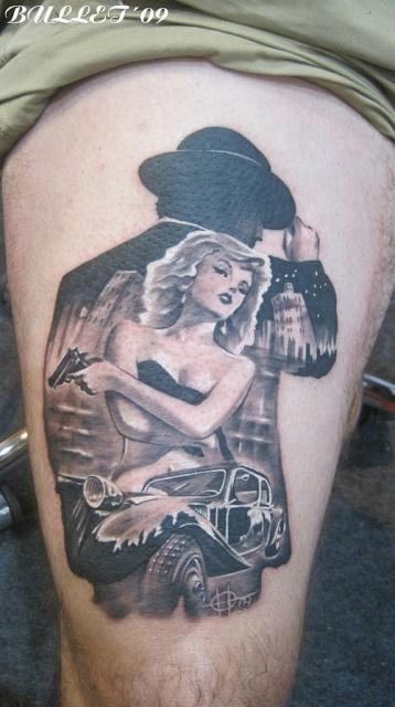 татуировки девушек на теле (11)