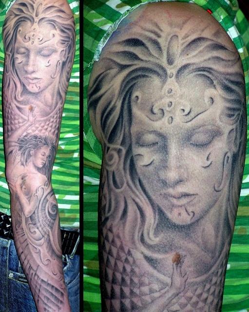 татуировки девушек на теле (10)