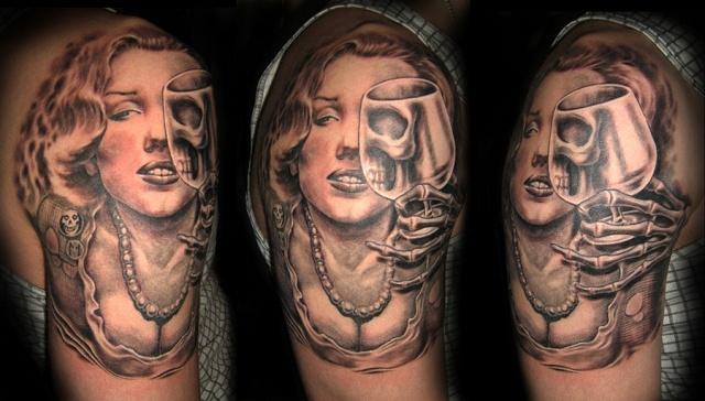 татуировки девушек на теле (4)
