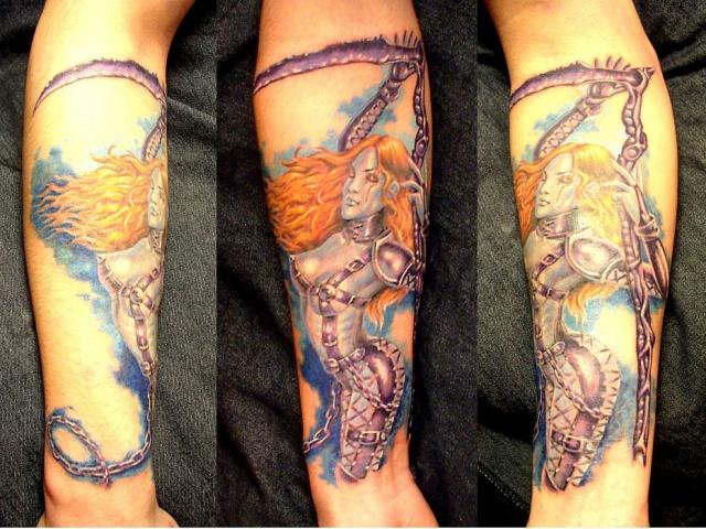 татуировки девушек на теле (3)